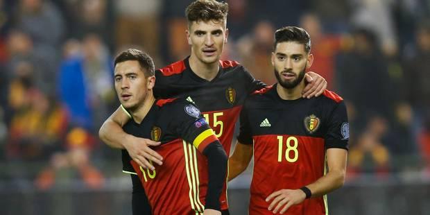 La Belgique toujours 5e au classement FIFA - La DH