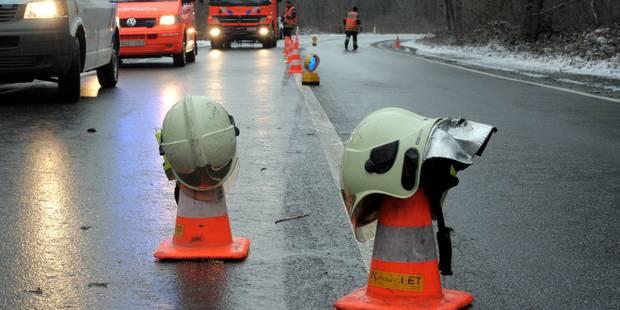 Grave accident de la route à cause du verglas à Mettet: un jeune de 18 ans perd la vie, un autre grièvement blessé - La ...