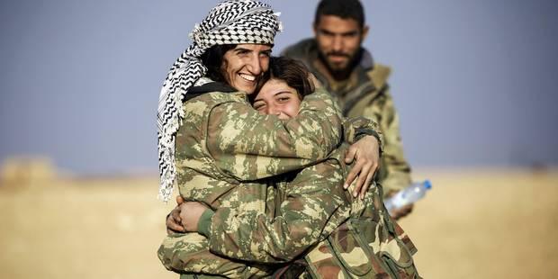 Pris en tenailles, Daech recule en Syrie - La DH