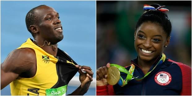 Usain Bolt et Simone Biles élus Sportif et Sportive de l'année aux Laureus World Awards 2017 - La DH