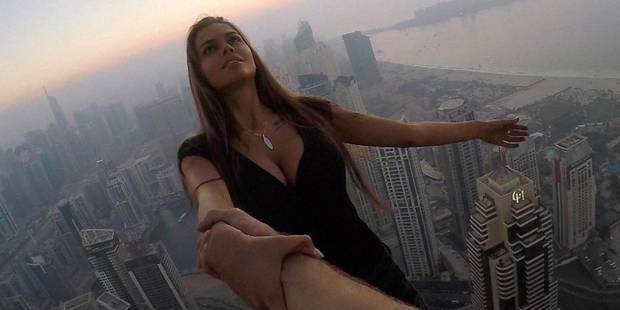 Une mannequin russe risque sa vie pour une photo (VIDEO) - La DH