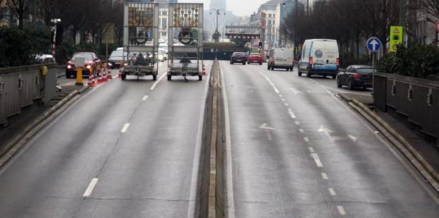 Le tunnel Rogier à Bruxelles rouvert dans les deux sens de la circulation - La DH