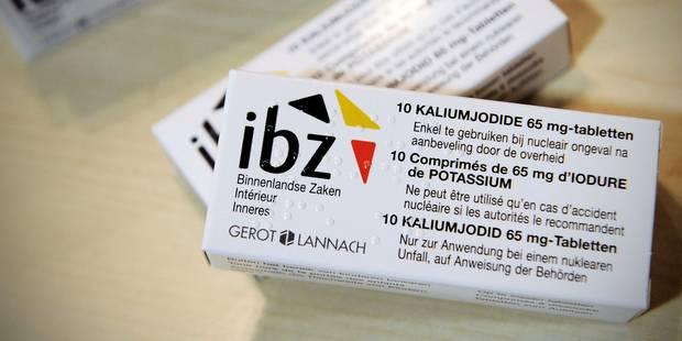 Pastilles d'iode gratuites pour tous dès fin 2017 - La DH