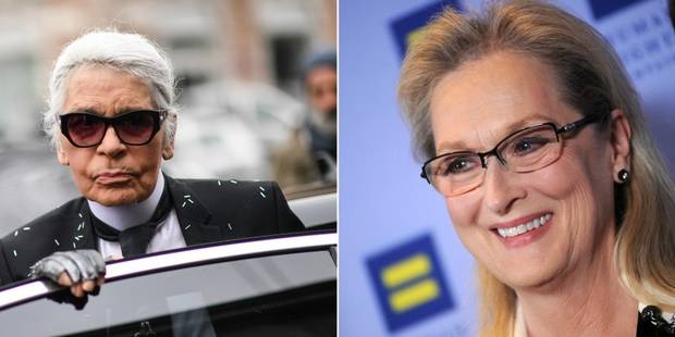 Karl Lagerfeld vs Meryl Streep: c'est la guerre! - La DH