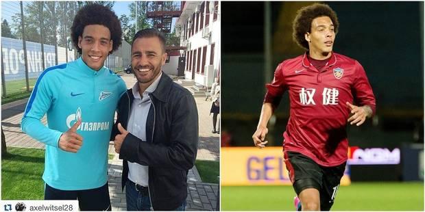 """Cannavaro parle de Witsel et la Chine: """"J'ai parlé à Mertens et j'ai dit non à Fellaini"""" - La DH"""