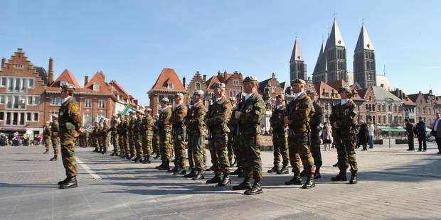 """La fermeture de la caserne Ruquoy à Tournai """"n'est à ce stade pas d'actualité"""", assure Charles Michel - La DH"""