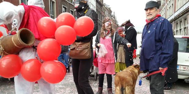 Le carnaval, c'est aussi à Liège ! (vidéo) - La DH