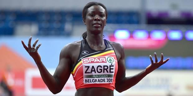 """Disqualifiée, Anne Zagré se sent volée: """"C'est de l'amateurisme"""" (VIDEO) - La DH"""