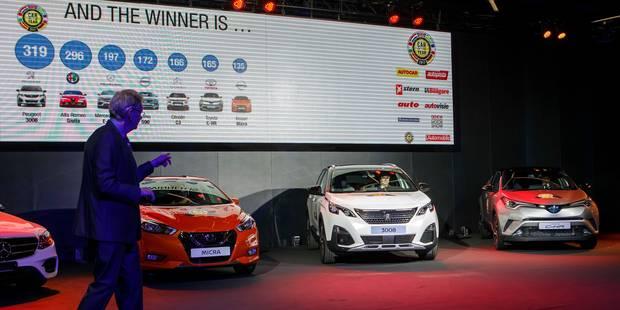 La 3008 de Peugeot élue voiture de l'année: êtes-vous d'accord avec ce choix ? (SONDAGE) - La DH