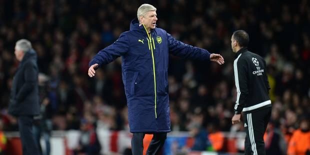 """Wenger frustré et en colère: """"C'est l'arbitre qui a tué le match"""" - La DH"""