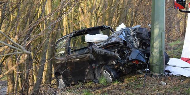 Philippeville: accident mortel à cause d'un nid de poule? (PHOTOS) - La DH