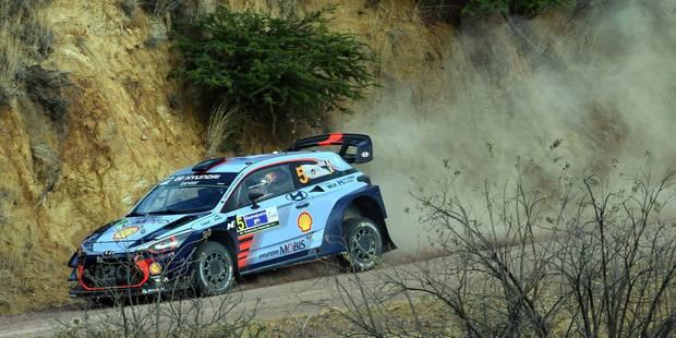Rallye du Mexique : Meeke prend la tête devant Ogier, Neuville troisième - La DH