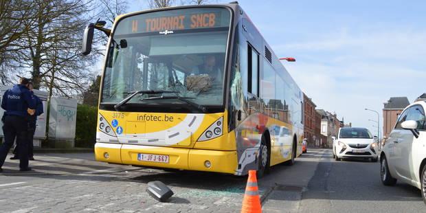 Tournai : Accrochage entre un bus et une voiture - La DH