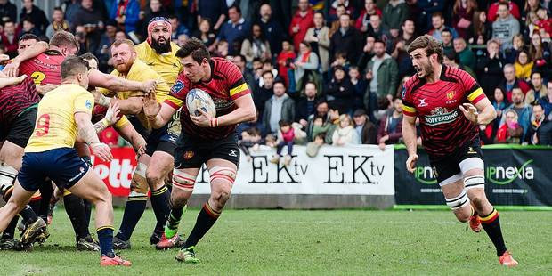Rugby: le match le plus accompli des Diables Noirs - La DH