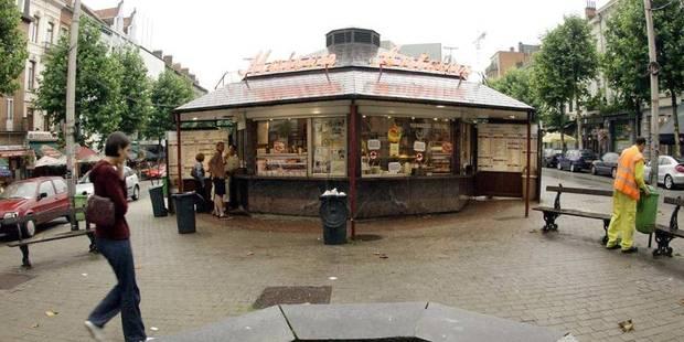 Etterbeek: Le pavillon circulaire de la friterie Antoine vit ses dernières heures - La DH
