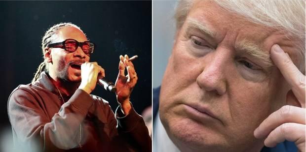 Ce que fait Snoop Dogg à Trump dans son dernier clip suscite la polémique (VIDEO) - La DH