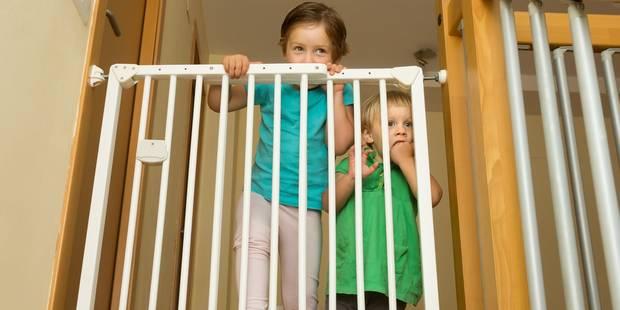 Barrières pour enfants: huit sur dix sont dangereuses! - La DH