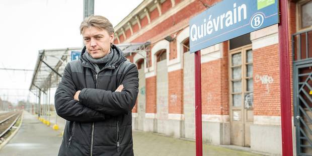 Les gares de Boussu et Quiévrain laissées à l'abandon - La DH