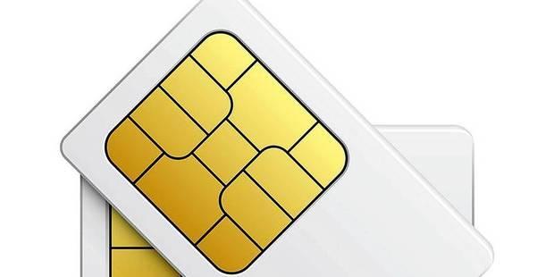 Un an après les attentats, un million de cartes SIM prépayées enregistrées - La DH