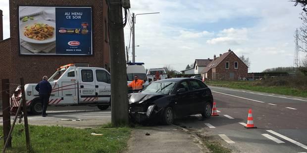 Tournai: Deux blessés légers - La DH