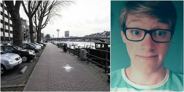 Steven, 17 ans a été repêché dans la Meuse - La DH