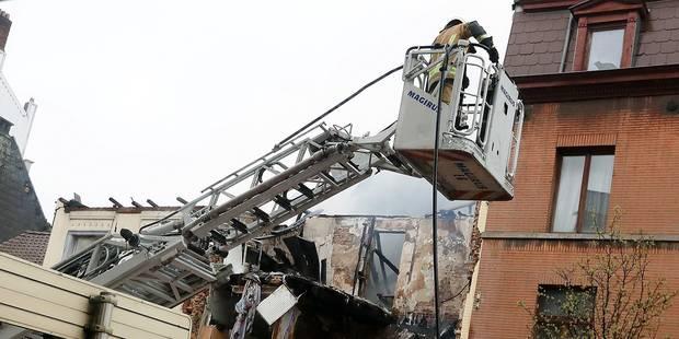 """Immeuble effondré à Saint-Gilles : """"J'ai d'abord cru à une bombe"""" - La DH"""