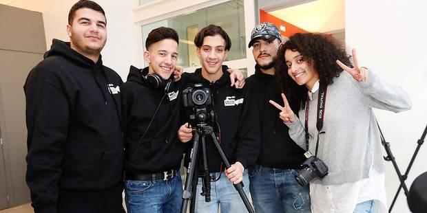 Les jeunes de Molenbeek promeuvent leur commune - La DH