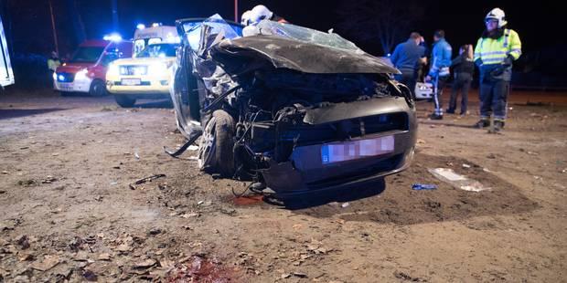 Leval-Trahegnies: grave accident sur la Chaussée de Mons - La DH