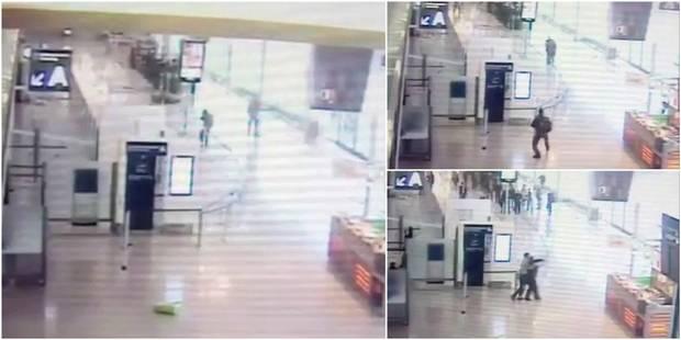 Attaque à l'aéroport d'Orly: voici les images des caméras de surveillance (VIDÉO) - La DH