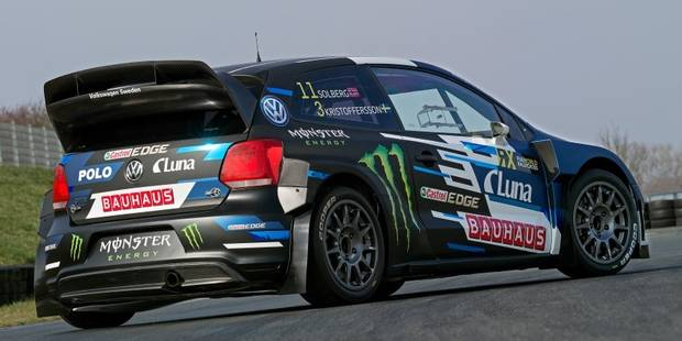 Petter Solberg en VW Polo avec un ingénieur belge en WRX - La DH