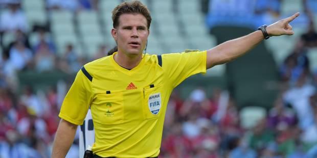Felix Brych arbitrera Belgique-Grèce mais ne porte pas toujours chance aux Diables - La DH