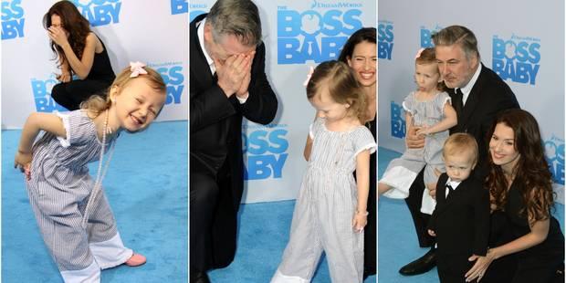 Alec Baldwin et sa femme dépassés par l'énergie de leur petite fille ! (PHOTOS) - La DH