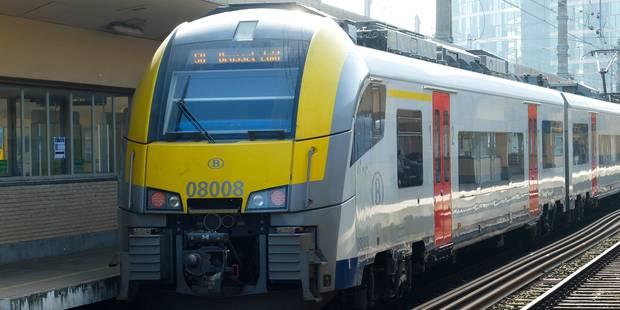 Le trafic ferroviaire fortement perturbé entre Bruxelles et Louvain - La DH
