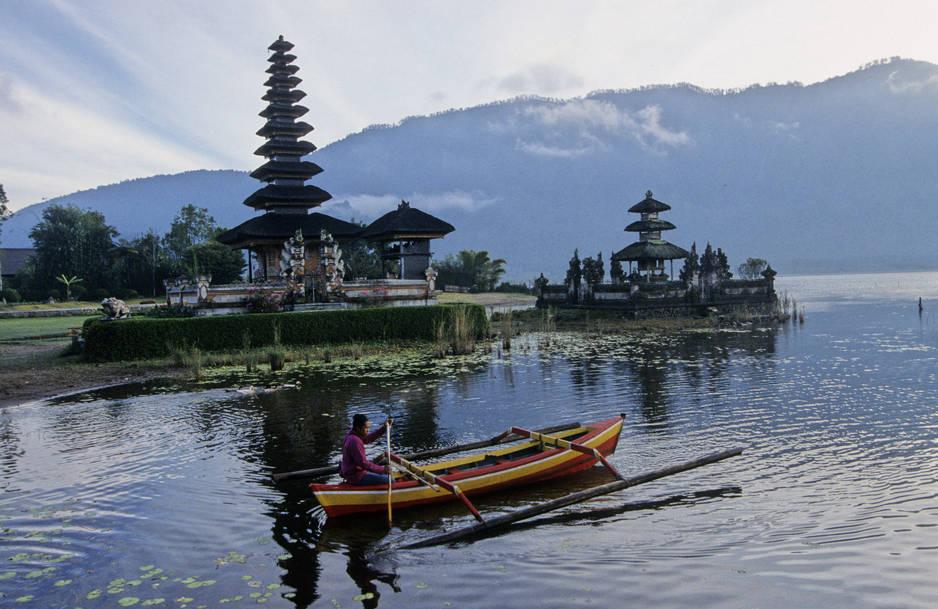 1.Bali, en Indonésie
