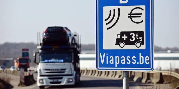 Taxe kilométrique: les camions rapportent moins que prévu - La DH