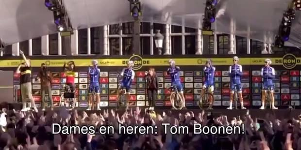 Un superbe clapping pour le dernier Ronde de Tom Boonen (VIDEO) - La DH