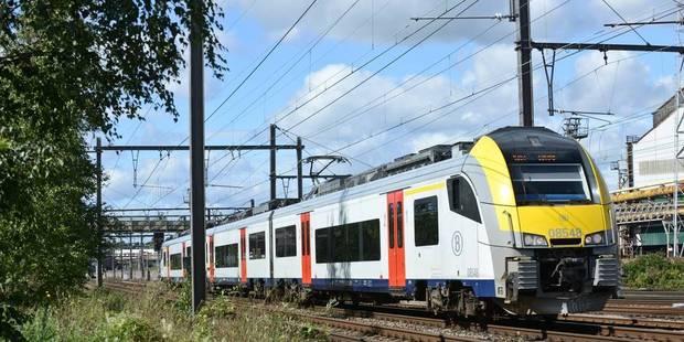 Une personne happée par un train à Liège - La DH