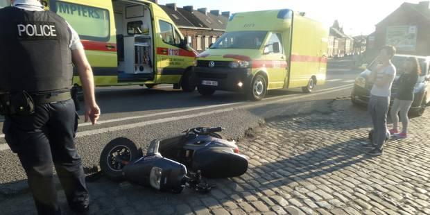 Marchienne-au-Pont: deux motocyclistes blessés - La DH