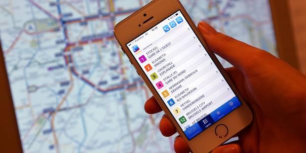 Une station de métro STIB sur deux propose un wifi: Voici les dernières équipées (PLAN) - La DH