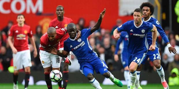 Premier League: Chelsea perd encore des plumes à Manchester United (2-0) - La DH