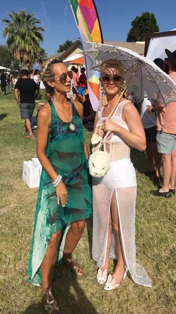 Katy Perry et Lady Victoria Hervey.