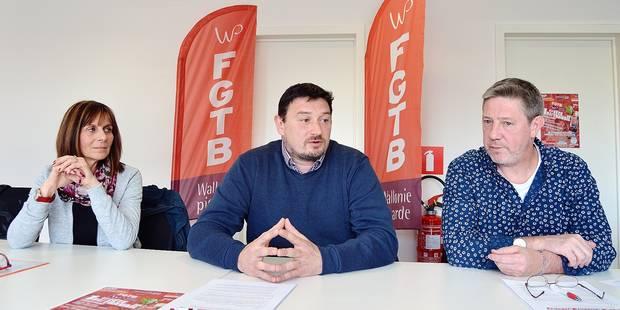 Tournai- Mouscron : La FGTB veut retrouver son punch - La DH