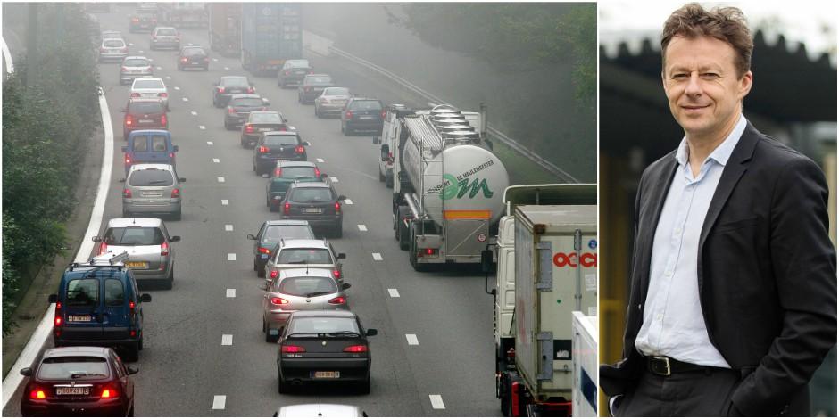 """La proposition choc du ministre Di Antonio pour lutter contre les bouchons vers Bruxelles: """"Fini les camions aux heures ..."""