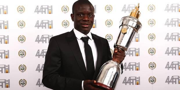 N'Golo Kanté nommé joueur de l'année en Angleterre - La DH