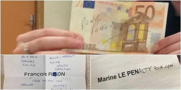 Quand les électeurs français adressent des messages sur leur bulletin de vote (PHOTOS) - La DH
