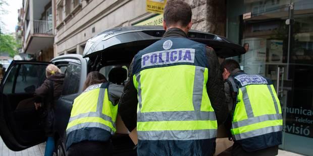 Deux djihadistes présumés arrêtés en Espagne étaient à Bruxelles lors des attentats - La DH