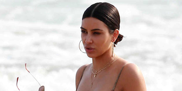 Le corps complètement improbable de Kim Kardashian en bikini - La DH