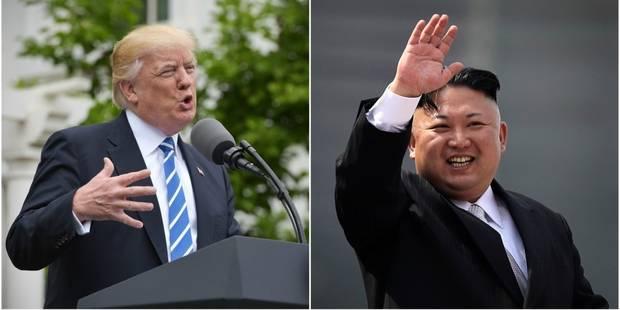 """Une rencontre Trump-Kim Jong-Un? Le président américain se dit """"honoré"""" - La DH"""