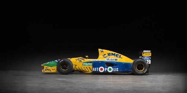 La Benetton de Michael Schumacher en vente à Francorchamps! - La DH
