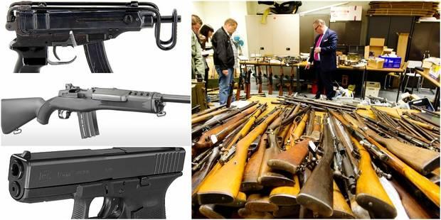 Un armurier et patron de club de tir arrêté pour trafic d'armes - La DH